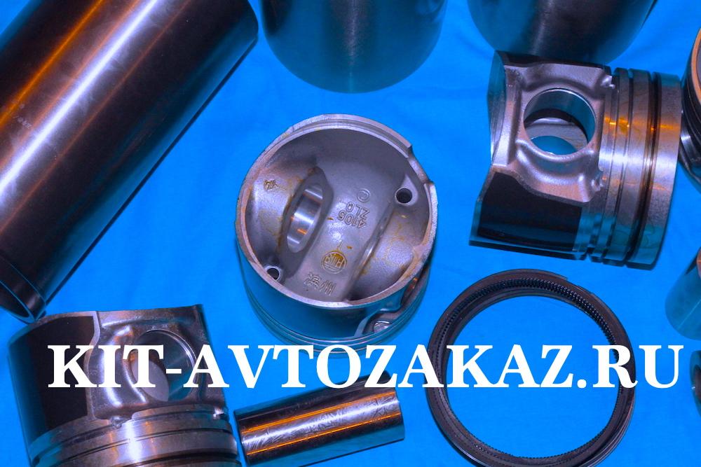 гильзо поршневая группа YZ4105ZLQ YUEJIN 1080 ЮДЖИН 1080 комплект включает себя гильзы - 4 шт. поршни - 4 шт. поршневые пальцы - 4 шт. поршневые кольца - комплект