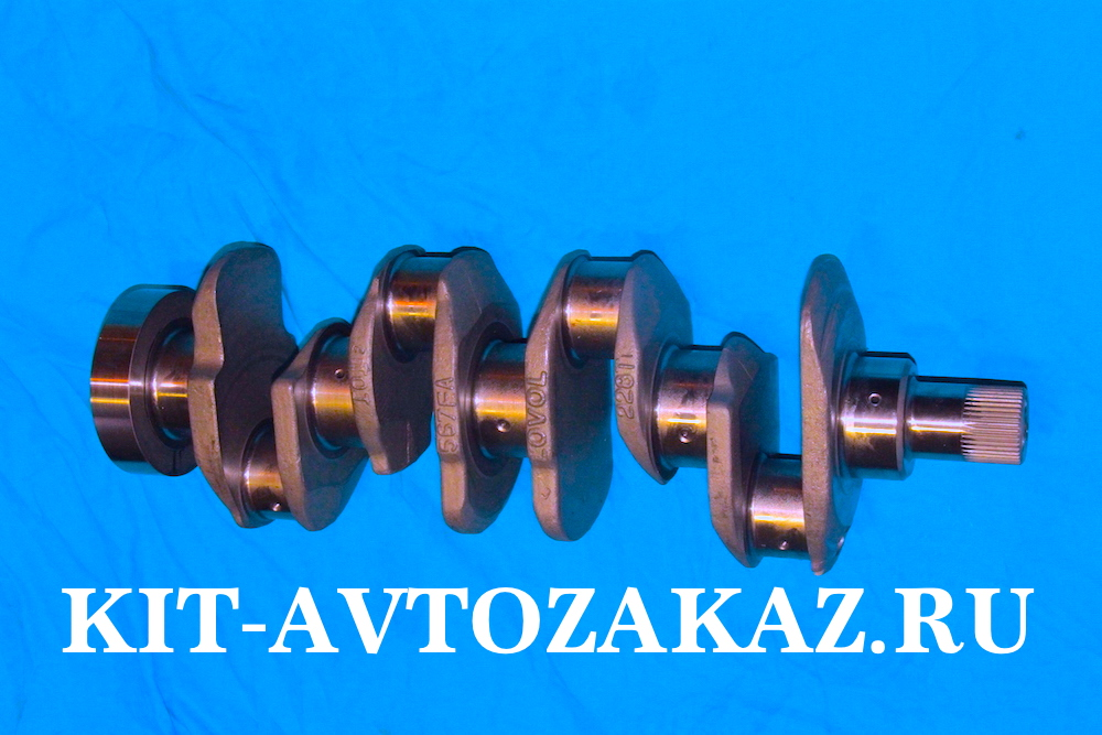 Вал коленчатый T31315681 коленвал для двигателя Perkins 135Ti Перкинс 135 для автомобиля Фотон 1099 1069 1049 Foton Файзер phaser